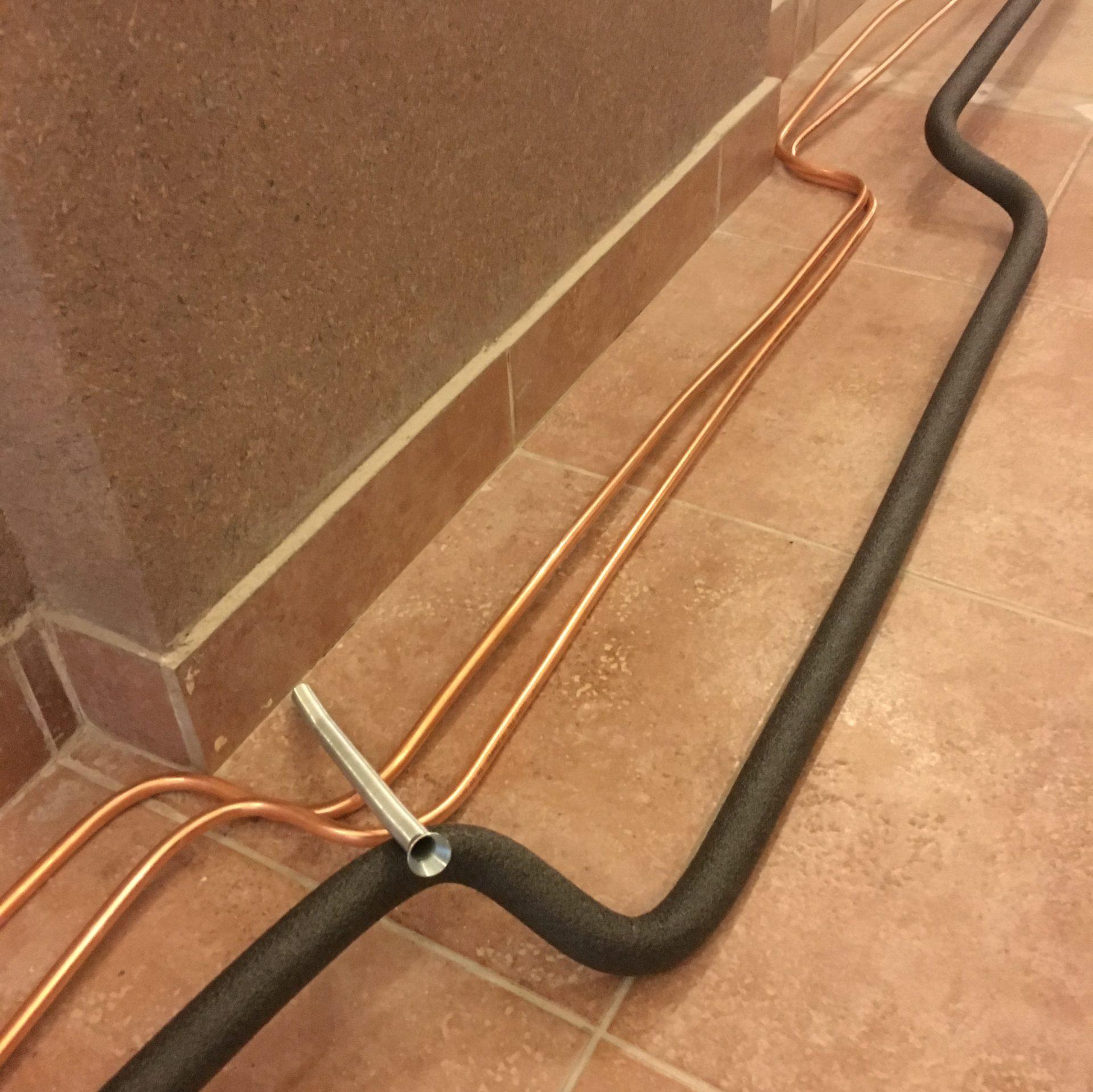 Отвод жидкостей сплит-системы